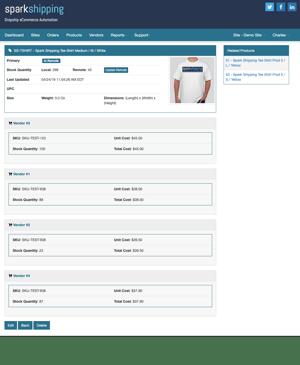 Multi Vendor Order Management and Intelligent Order Routing