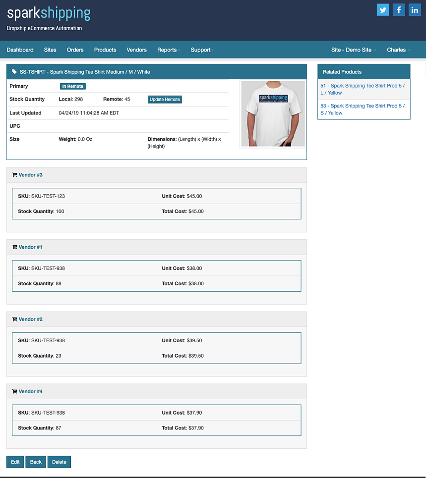 Spark Shipping - dropshipping automation software